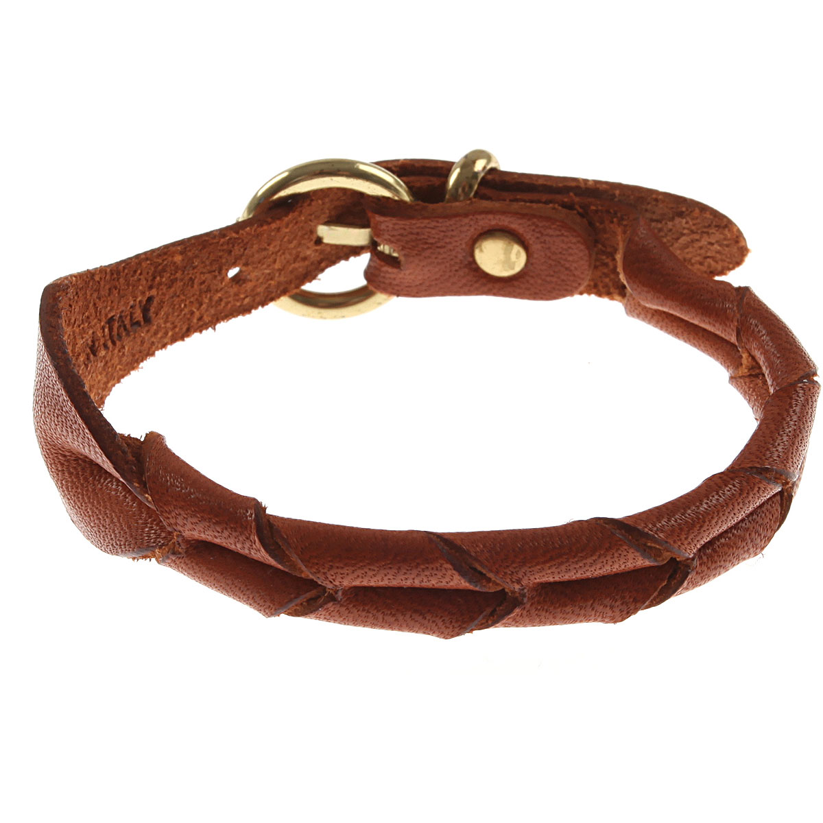 Image of Il Bisonte Bracelet for Women, Brown, Leather, 2017