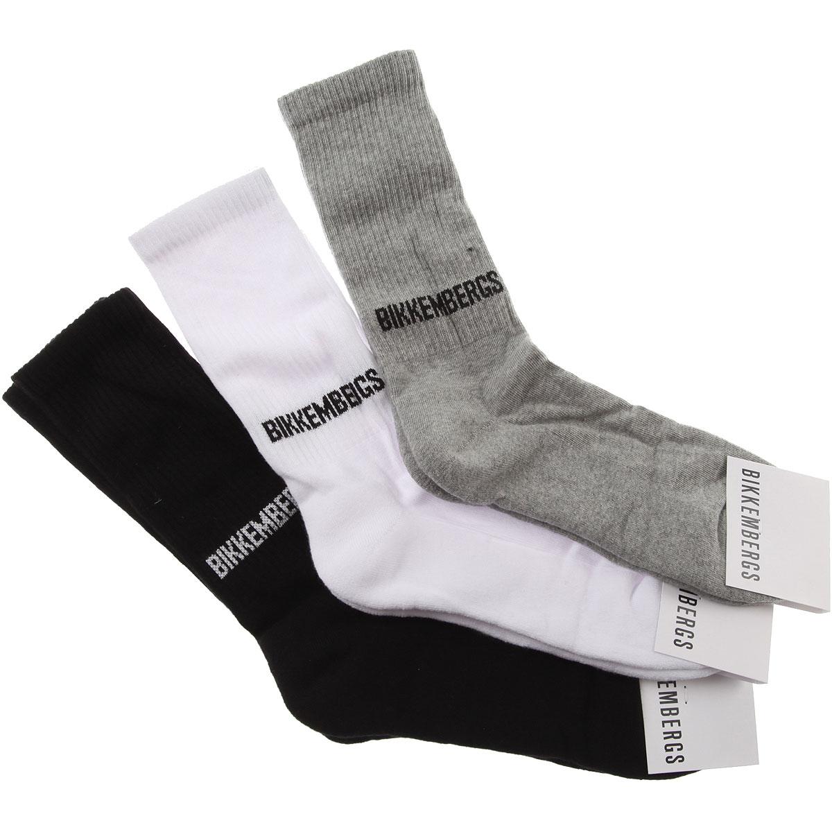 Bikkembergs Socks Socks for Men, 3 Pack, Black, Cotton, 2019, S - M L - XL