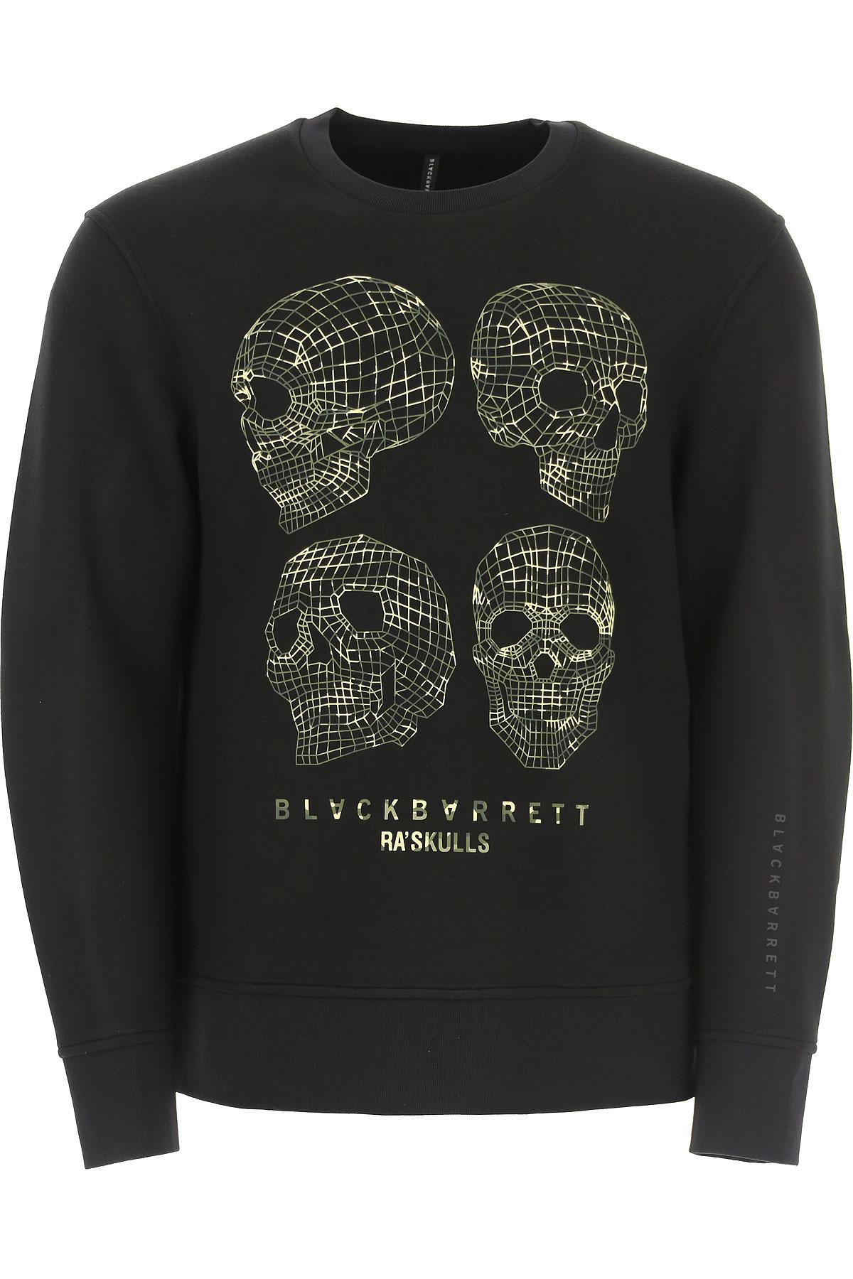 BlackBarrett Sweatshirt for Men On Sale, Black, Rayon, 2019, L M S XL