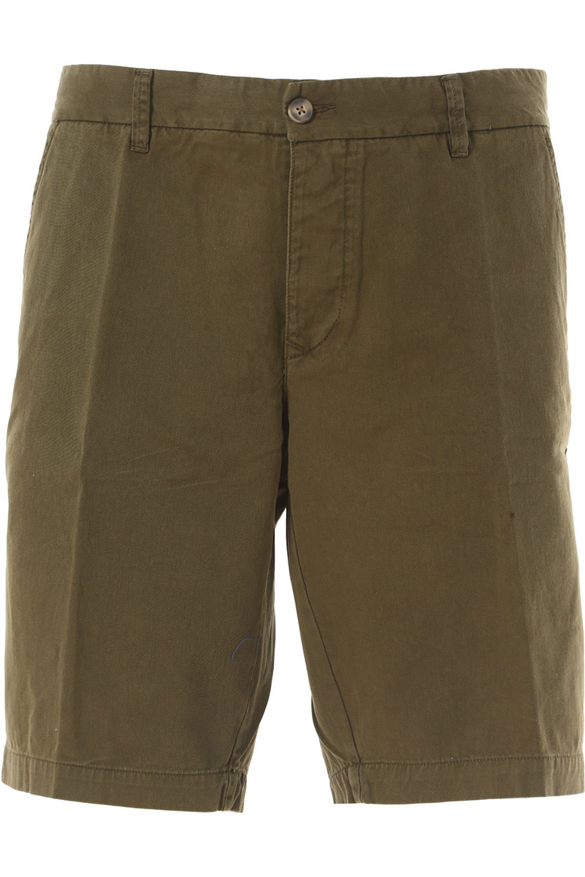 Image of Blauer Shorts for Men On Sale in Outlet, Military Green, Cotton, 2017, 33 38
