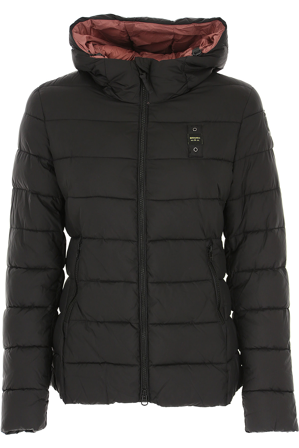 Blauer Down Jacket for Women, Puffer Ski Jacket On Sale, Black, polyester, 2019, 4 M S