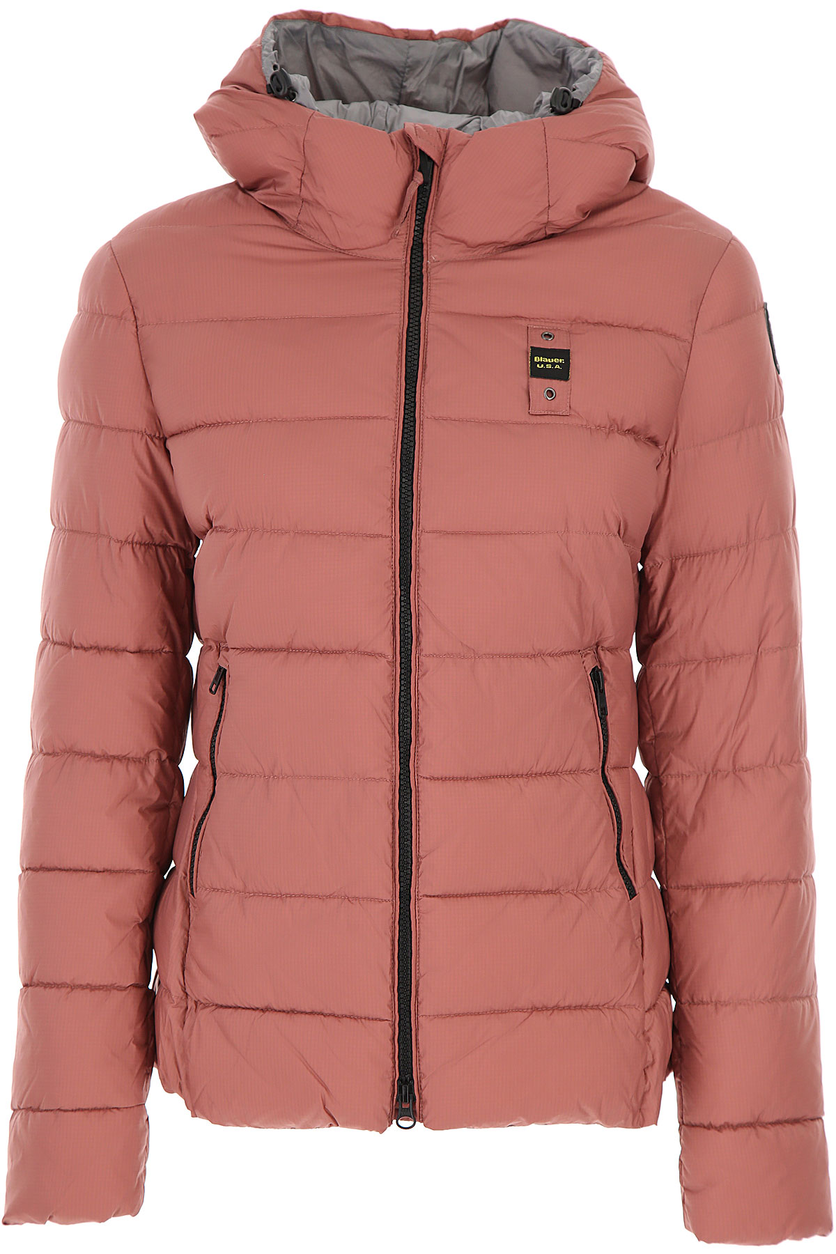 Blauer Down Jacket for Women, Puffer Ski Jacket On Sale, Altrosa Pink, polyester, 2019, 2 4