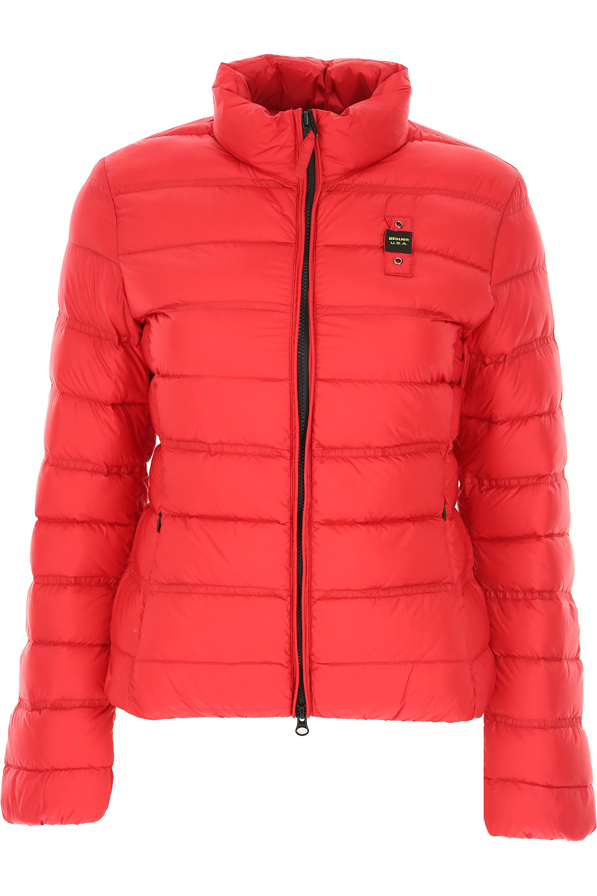 Blauer Down Jacket for Women, Puffer Ski Jacket On Sale, Strawberry Red, polyester, 2019, 2 6 8