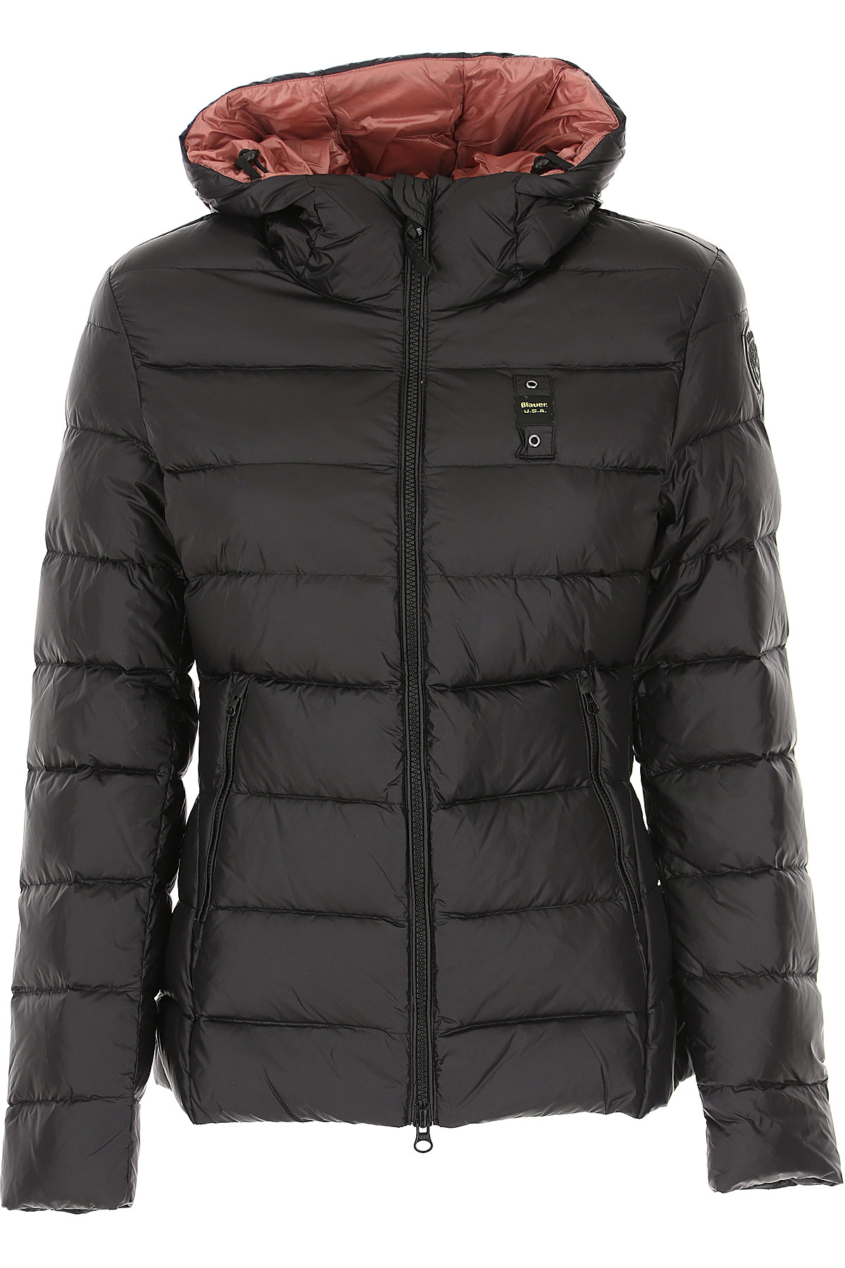 Blauer Down Jacket for Women, Puffer Ski Jacket On Sale, Black, polyester, 2019, 10 2 6 8
