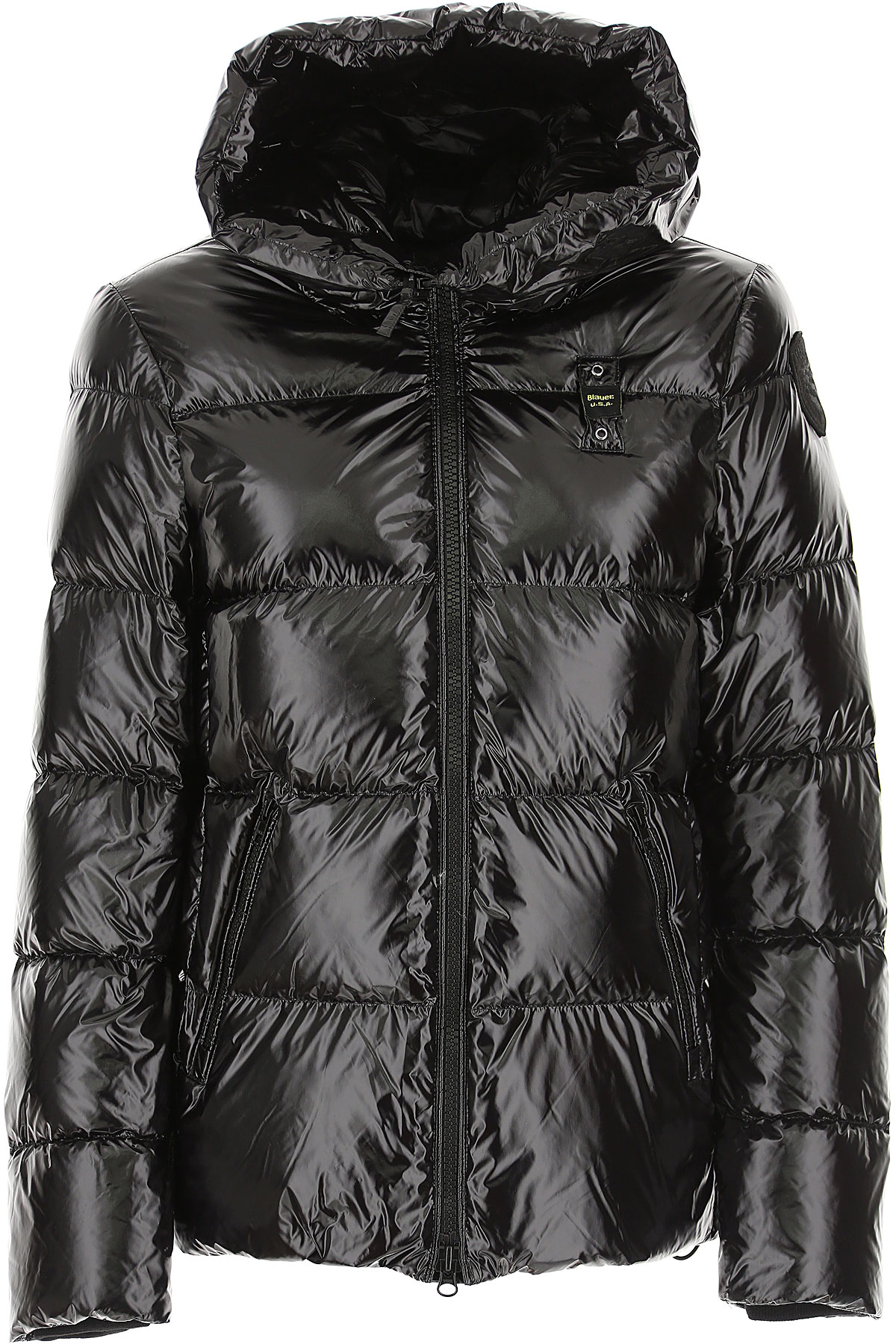 Blauer Down Jacket for Women, Puffer Ski Jacket On Sale, Black, polyester, 2019, 2 4 6 8