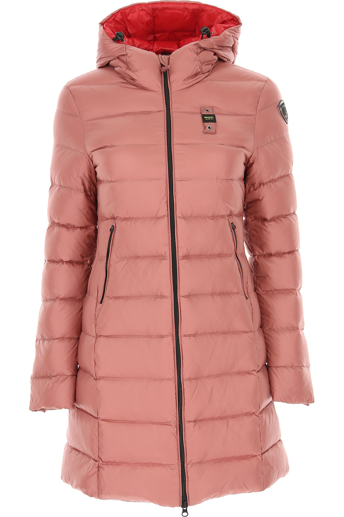 Blauer Down Jacket for Women, Puffer Ski Jacket On Sale, blush, polyester, 2019, 2 4 6 8