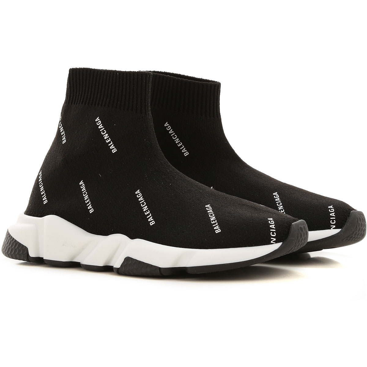 Balenciaga Kids Shoes for Boys On Sale, Black, Fabric, 2019, 12-12.5 13-13.5