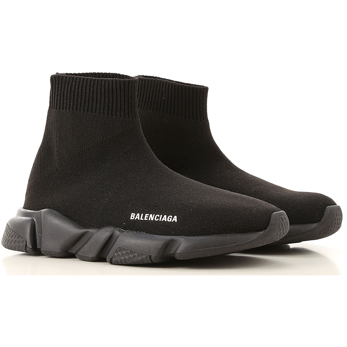 Balenciaga Kids Shoes for Boys On Sale, Black, Fabric, 2019, 11-11.5 9-9.5
