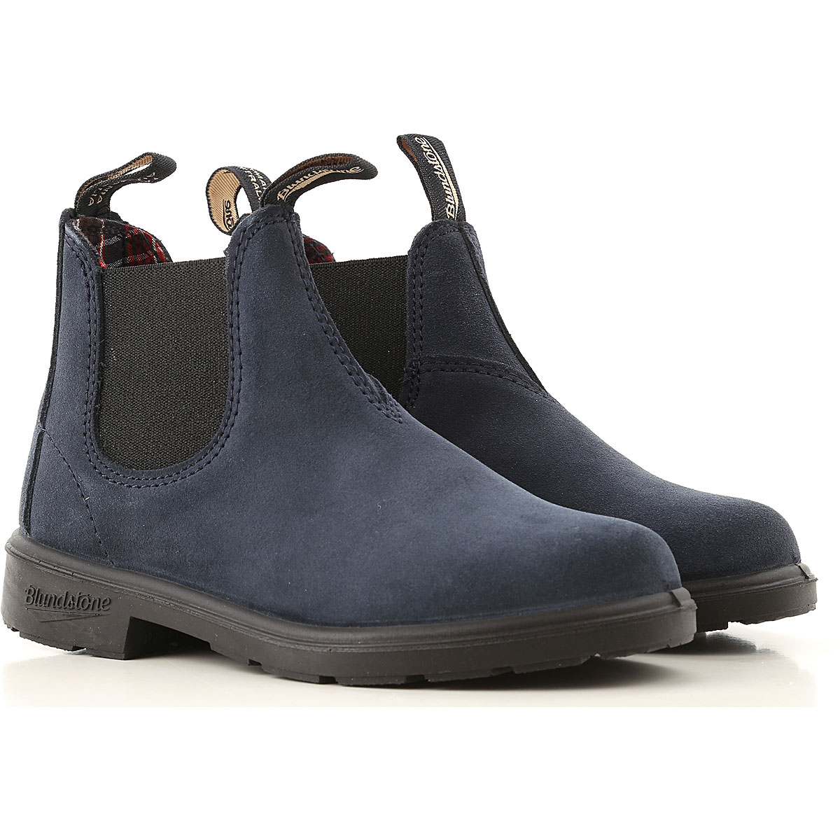 Blundstone Kidswear, Indigo, Suede leather, 2019, UK 9 - US 9.5 - EU 26.5 UK 12 - US 12.5 - EU 30.5