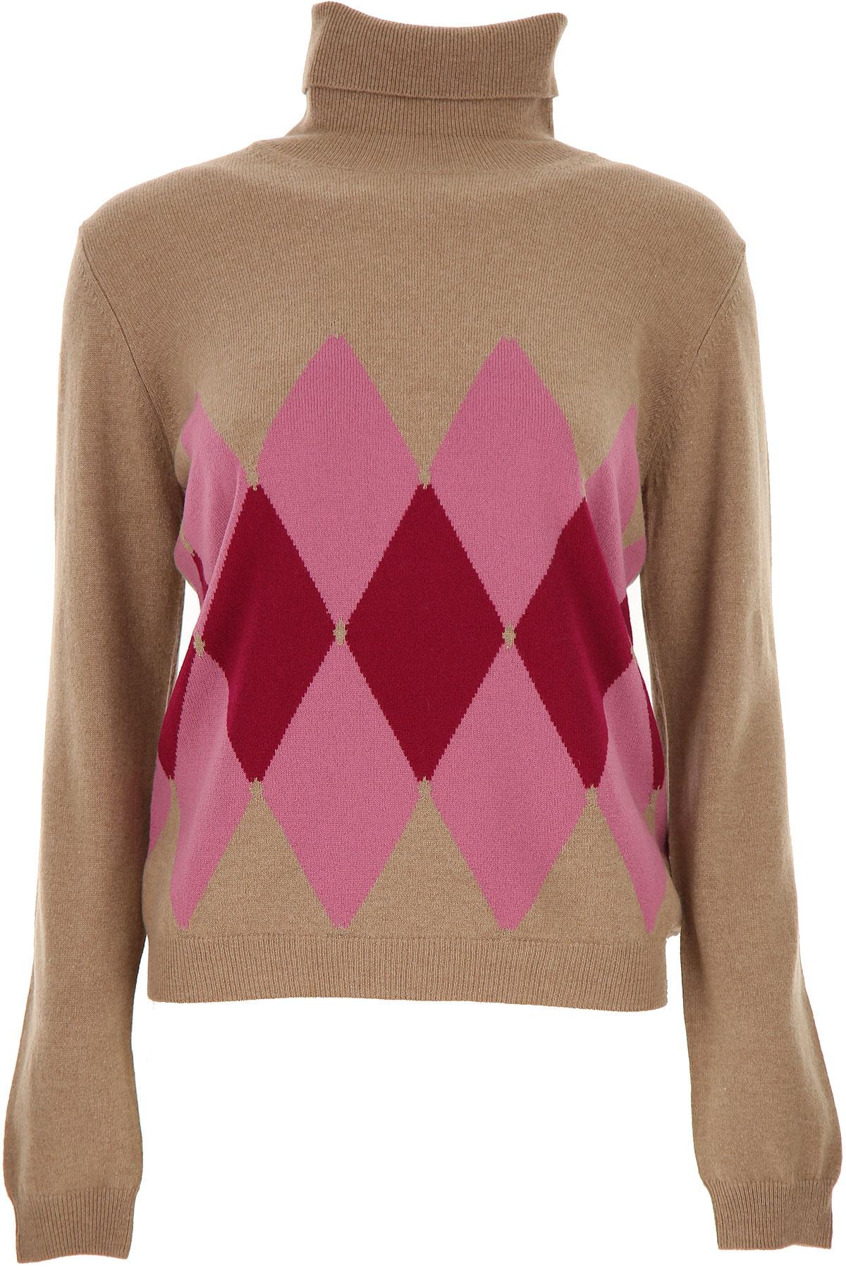 Ballantyne Sweater for Women Jumper On Sale, Beige, Cashemere, 2019, 10 6 8