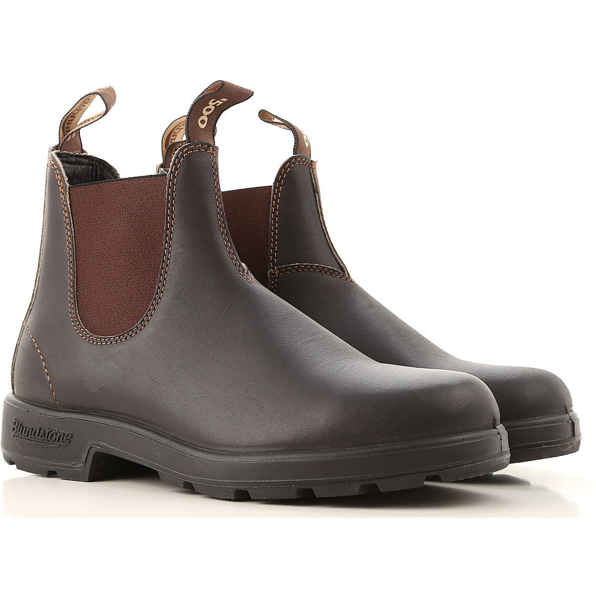 Blundstone Chelsea Boots for Men, Stout Brown, Leather, 2019, 11 8.5 9 9.5
