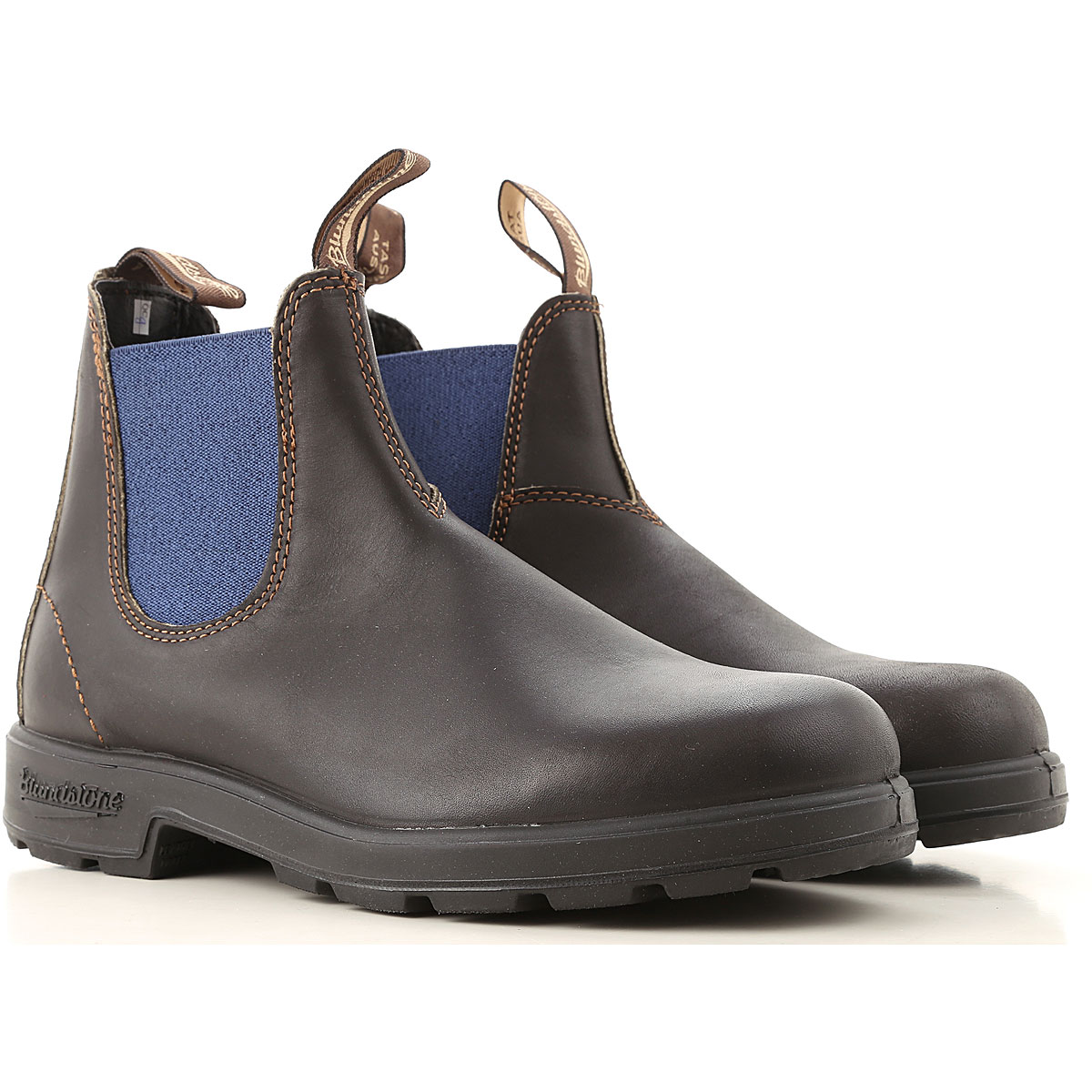 Blundstone Chelsea Boots for Men On Sale, Black, Leather, 2019, 11 9.5