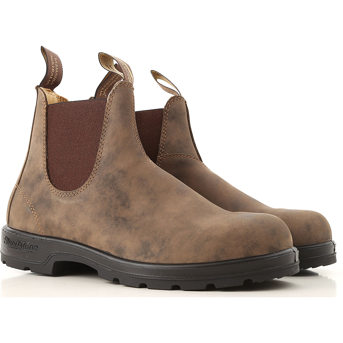 Image of Blundstone Chelsea Boots for Men, Brown, Leather, 2017, 10 10.5 7.5 8 9