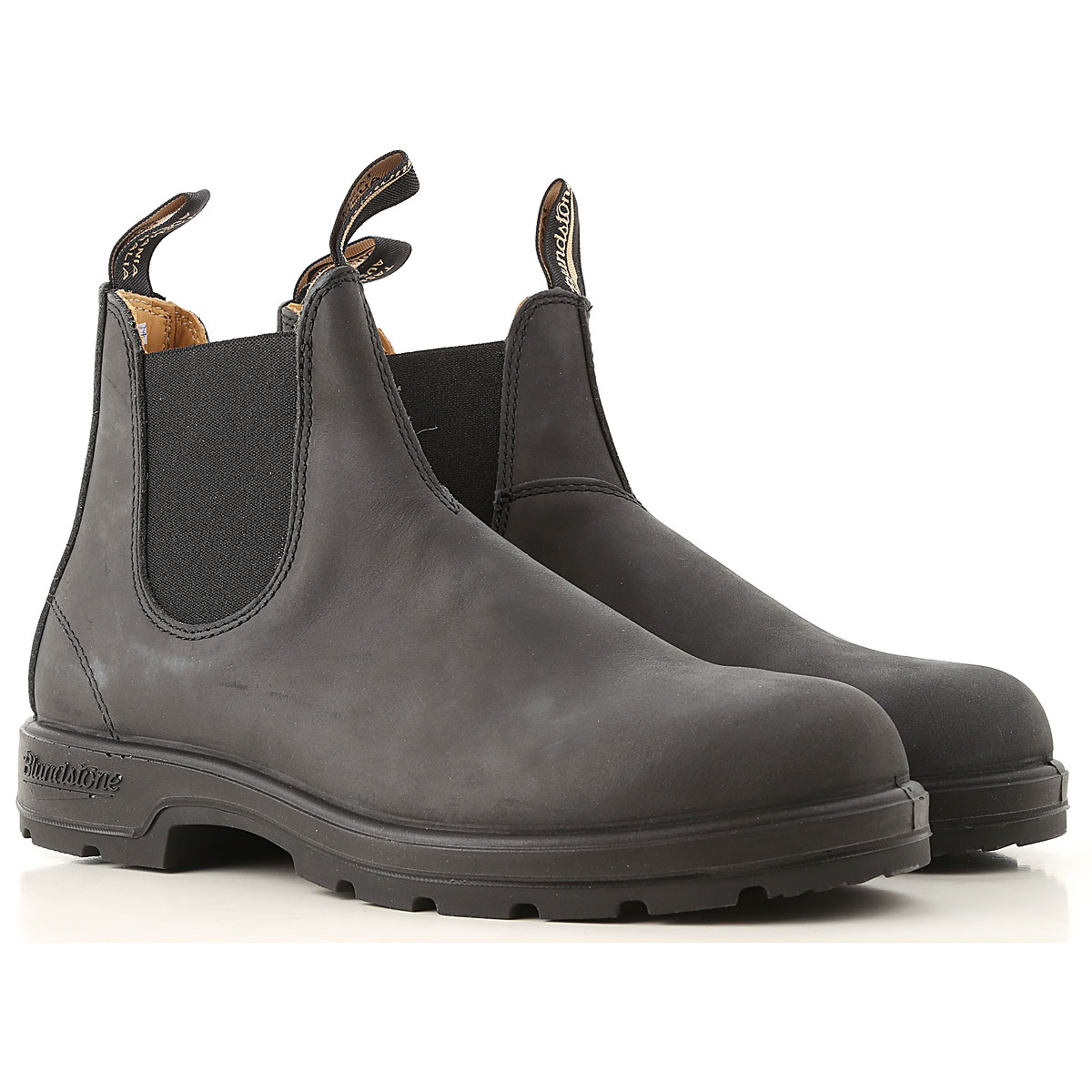 Image of Blundstone Chelsea Boots for Men, Dark Anthracite, Leather, 2017, 10 11 7 7.5 8 9