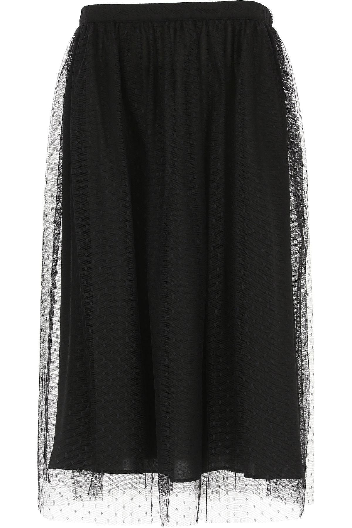 Image of Blugirl Skirt for Women, Black, polyamide, 2017, 26 28
