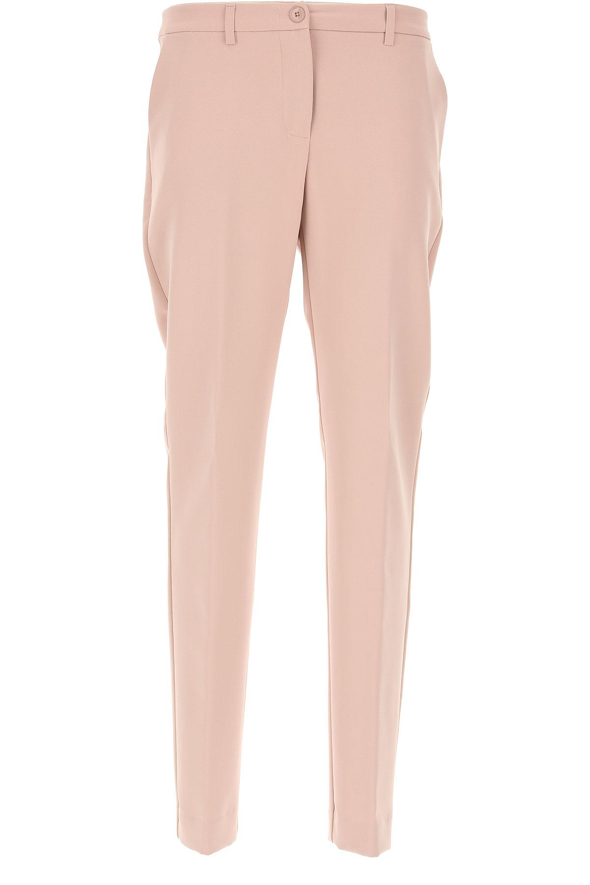 Image of Blugirl Pants for Women, Powder Pink, polyester, 2017, 26 28 30