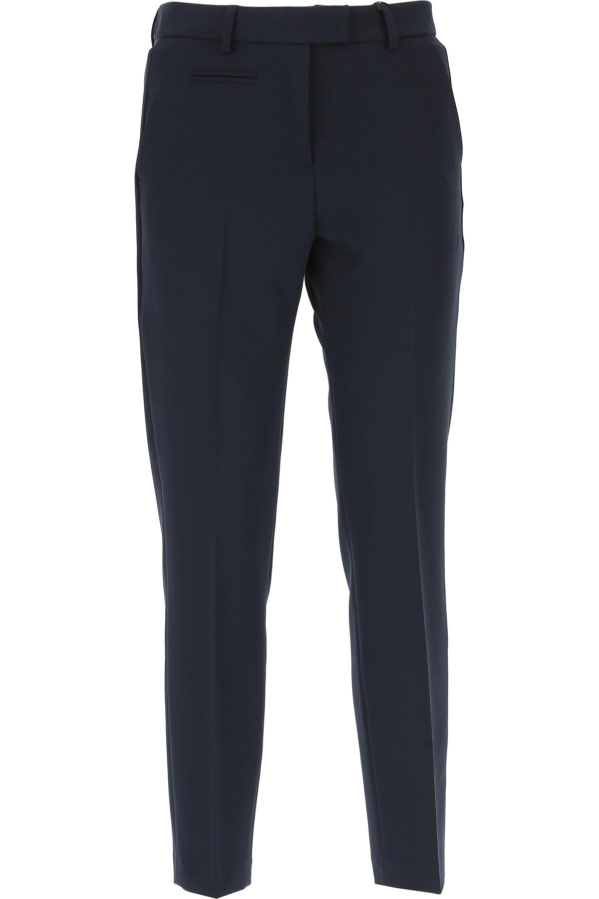 Image of Blugirl Pants for Women, Black, Viscose, 2017, 26 28 30