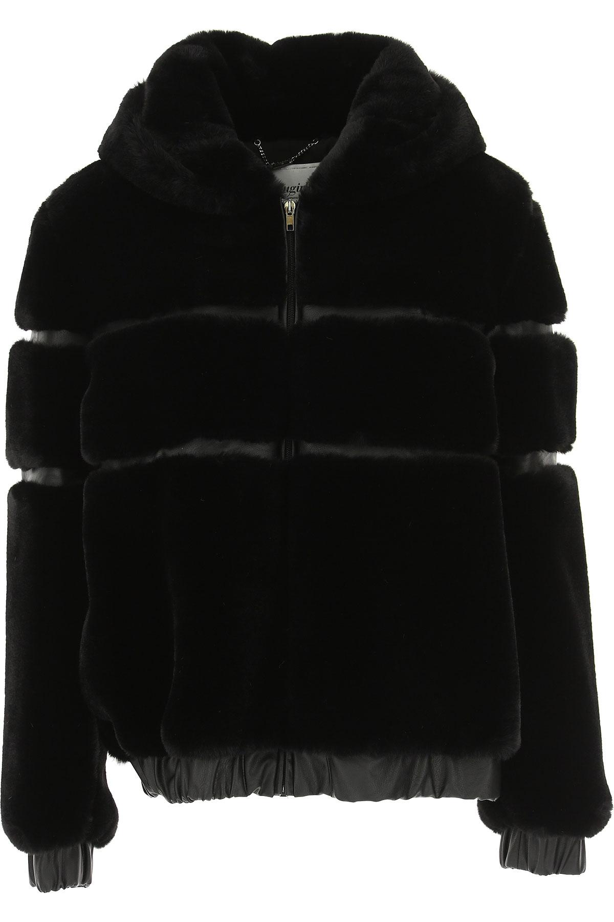 Image of Blugirl Jacket for Women, Black, polyester, 2017, 6 8