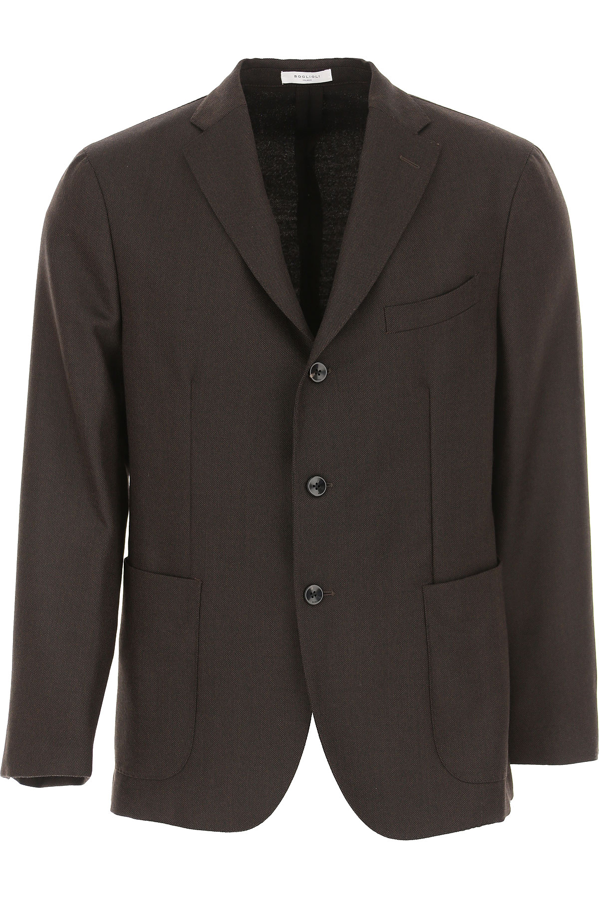 Boglioli Blazer for Men, Sport Coat On Sale, Dark Brown, Virgin wool, 2019, M XL XXL