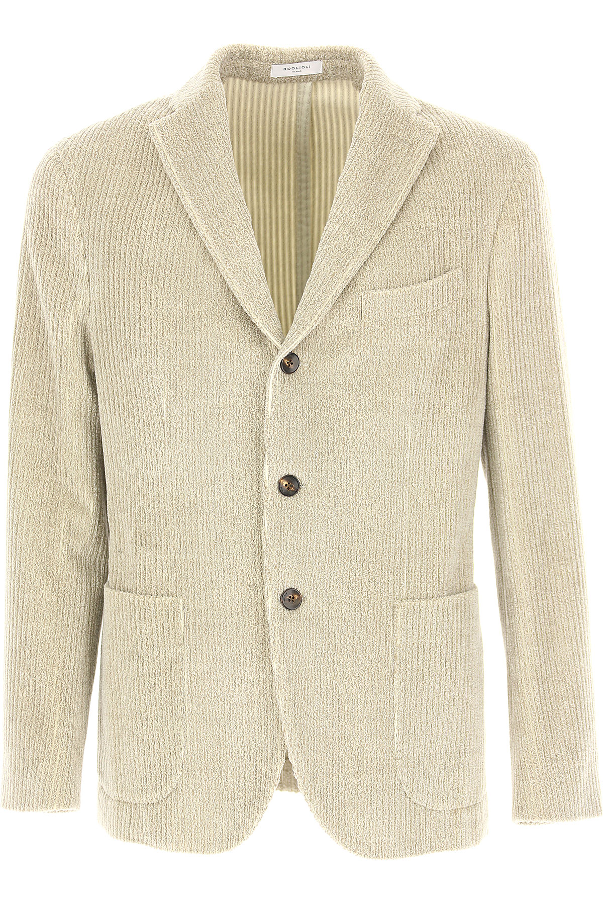 Boglioli Blazer for Men, Sport Coat On Sale, Beige, Cotton, 2019, L M S XL