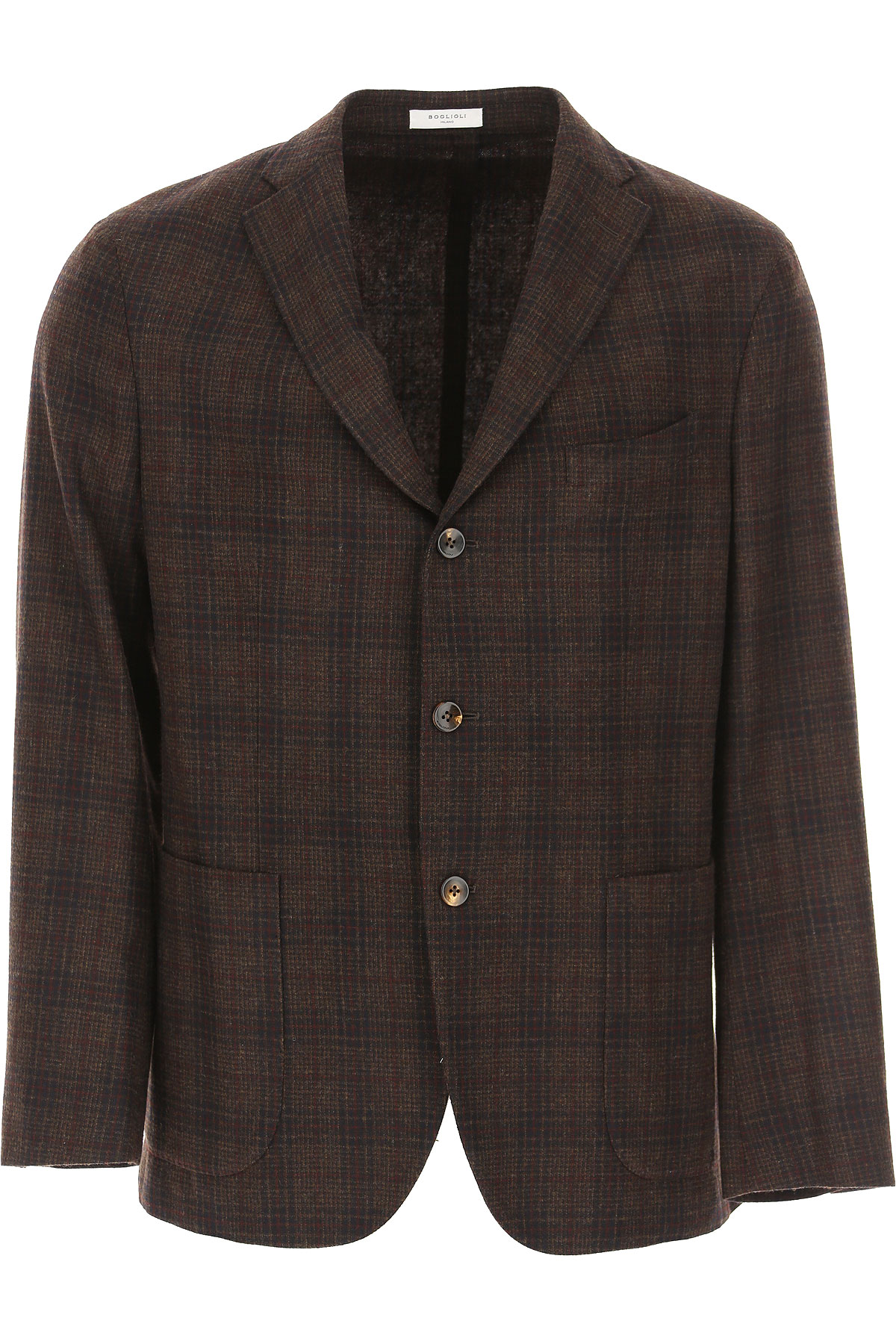 Boglioli Blazer for Men, Sport Coat On Sale, Dark Brown, Wool, 2019, L XL XXXL