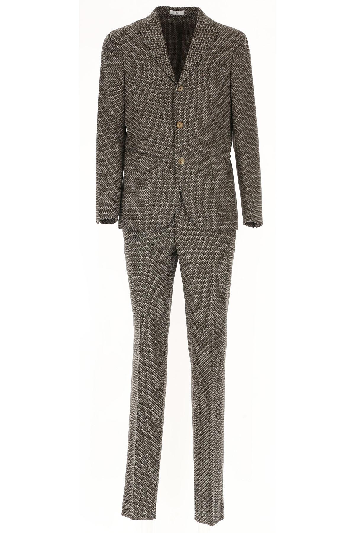 Image of Boglioli Men's Suit, Beige, Wool, 2017, L M XL