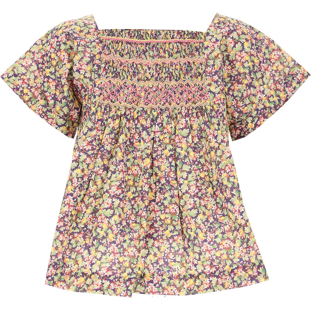 Bonpoint Chemises Enfant pour Fille Pas cher en Soldes, Multicolore, Coton, 2019, 4Y 8Y