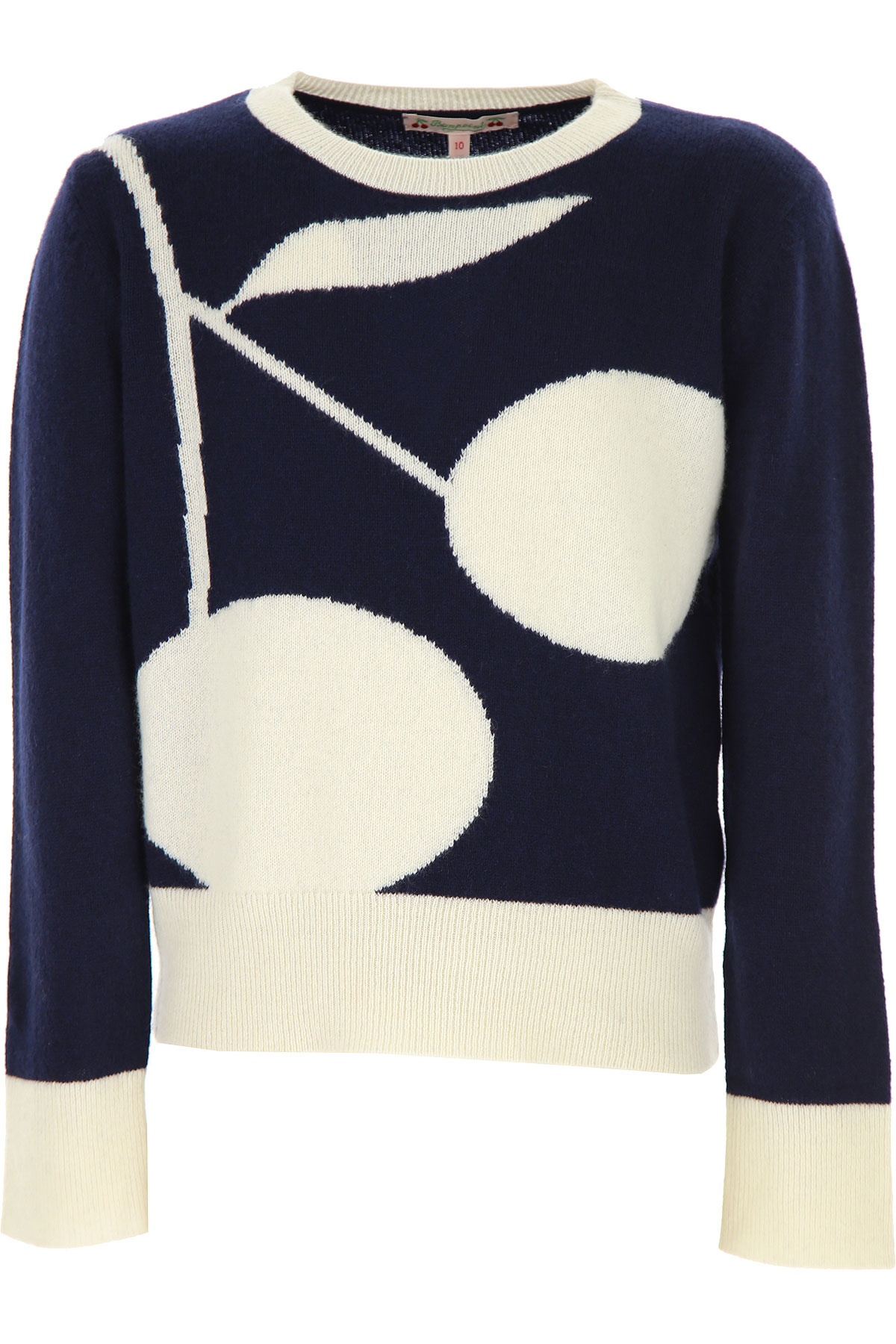 Bonpoint Kids Sweaters for Girls On Sale, Blue, Cashemere, 2019, 10Y 12Y