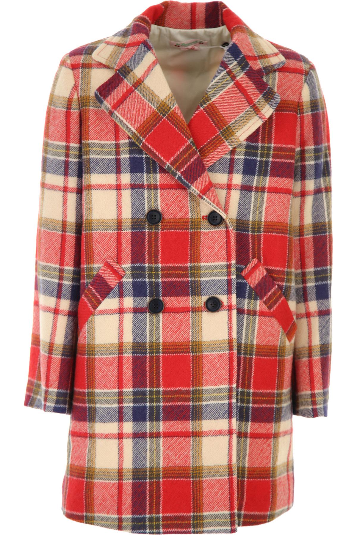 Bonpoint {DESIGNER} Kids Coat for Girls On Sale, Red, Wool, 2019, 10Y 12Y 14Y 8Y