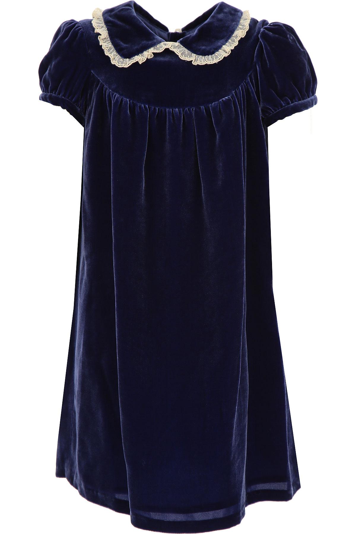 Bonpoint Girls Dress On Sale, Blue, Viscose, 2019, 10Y 4Y 6Y 8Y