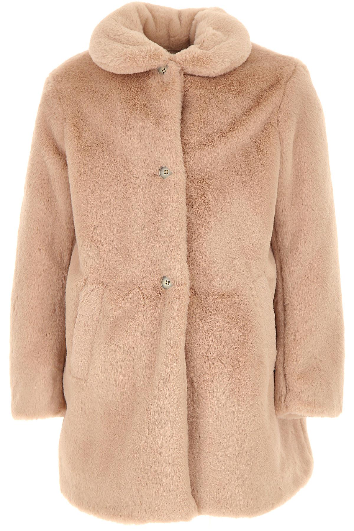 Bonpoint {DESIGNER} Kids Coat for Girls On Sale, antique pink, polyester, 2019, 10Y 12Y 4Y 6Y 8Y