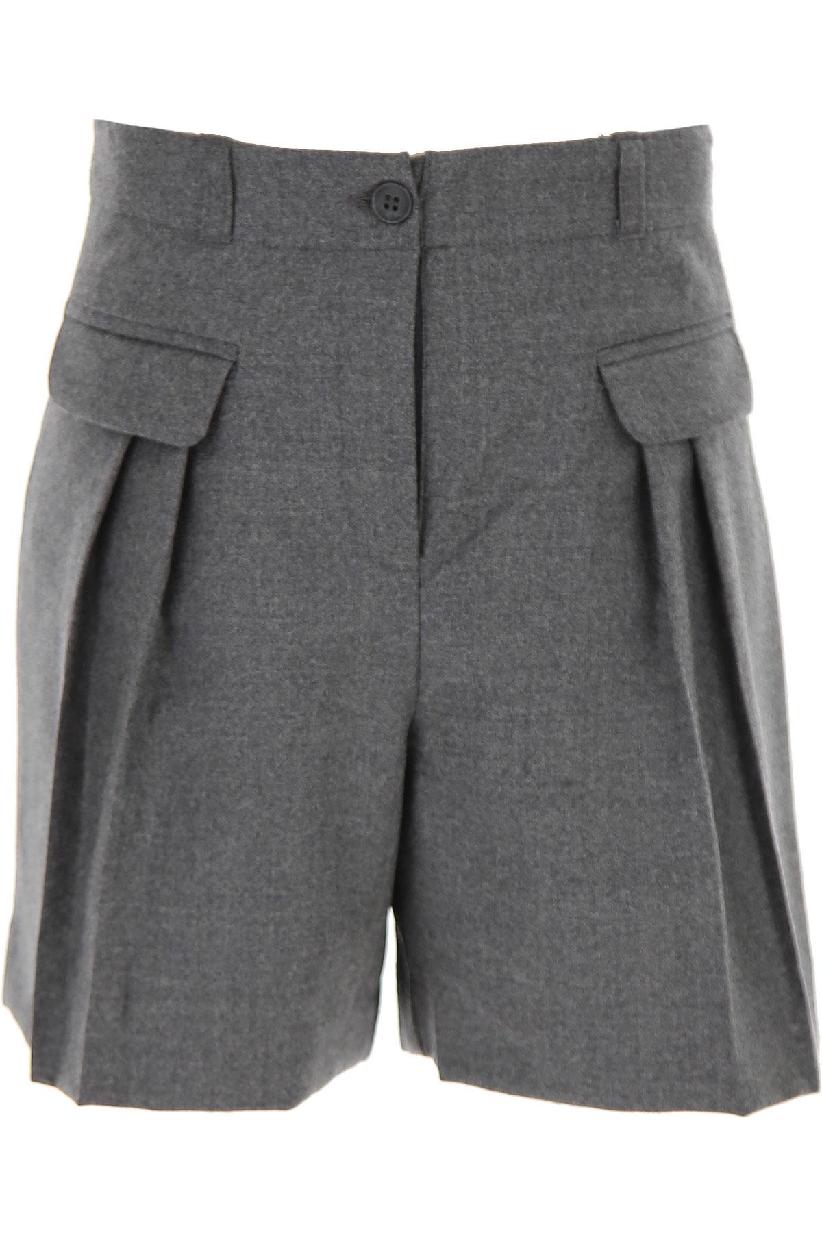 Bonpoint Kids Shorts for Girls On Sale, Grey, Wool, 2019, 10Y 12Y 8Y