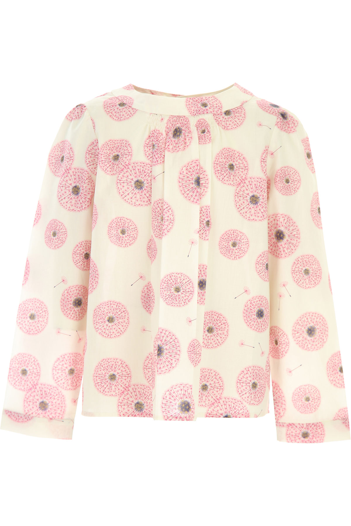 Bonpoint Kids Shirts for Girls On Sale, Cream, Cotton, 2019, 10Y 12Y 14Y