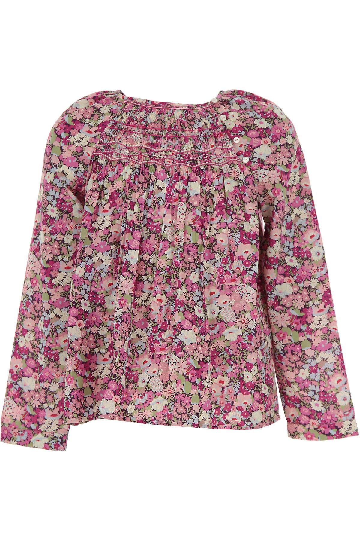 Bonpoint Kids Shirts for Girls On Sale, Lillac, Cotton, 2019, 10Y 12Y 6Y 8Y