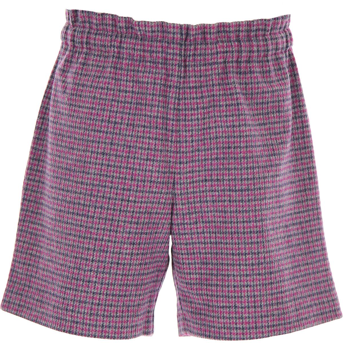 Bonpoint Kids Shorts for Girls On Sale, Violet, Wool, 2019, 10Y 12Y 14Y 6Y 8Y
