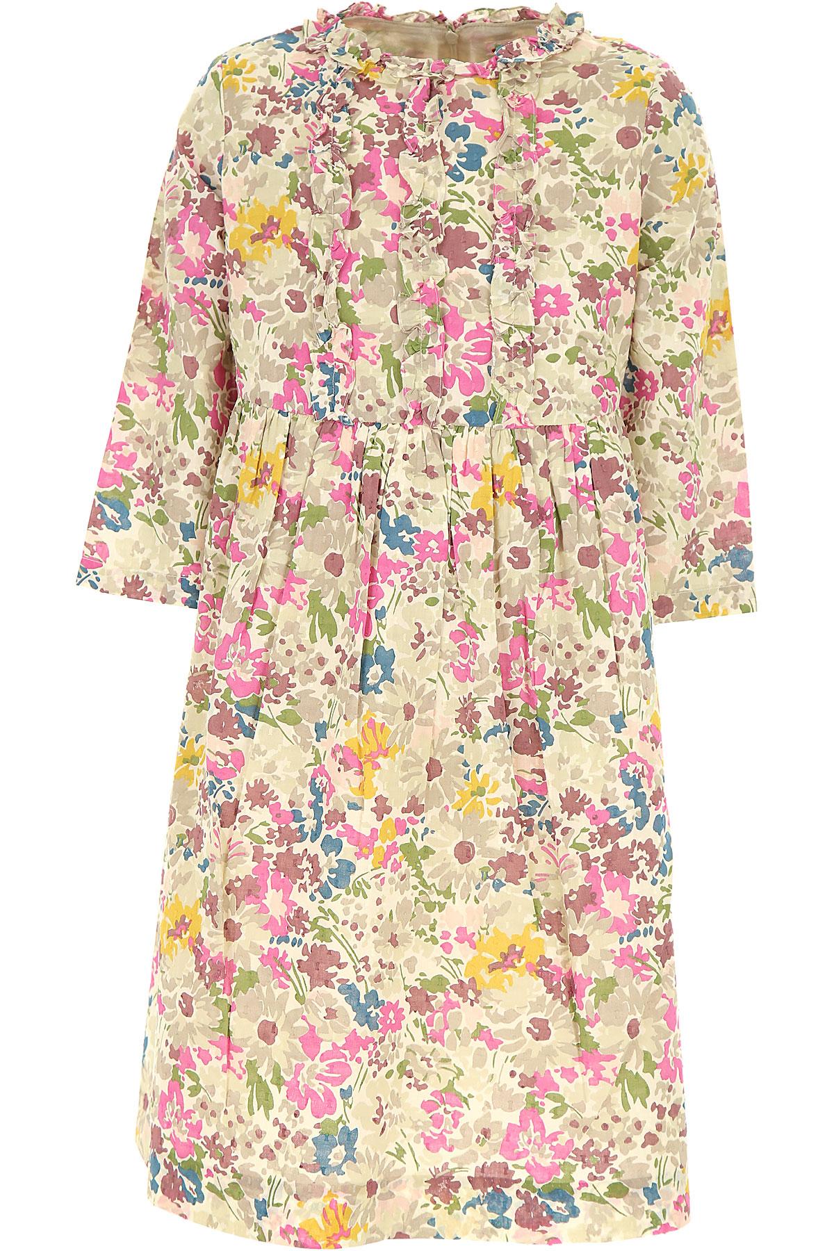 Bonpoint Girls Dress On Sale, Cream, Cotton, 2019, 10Y 12Y