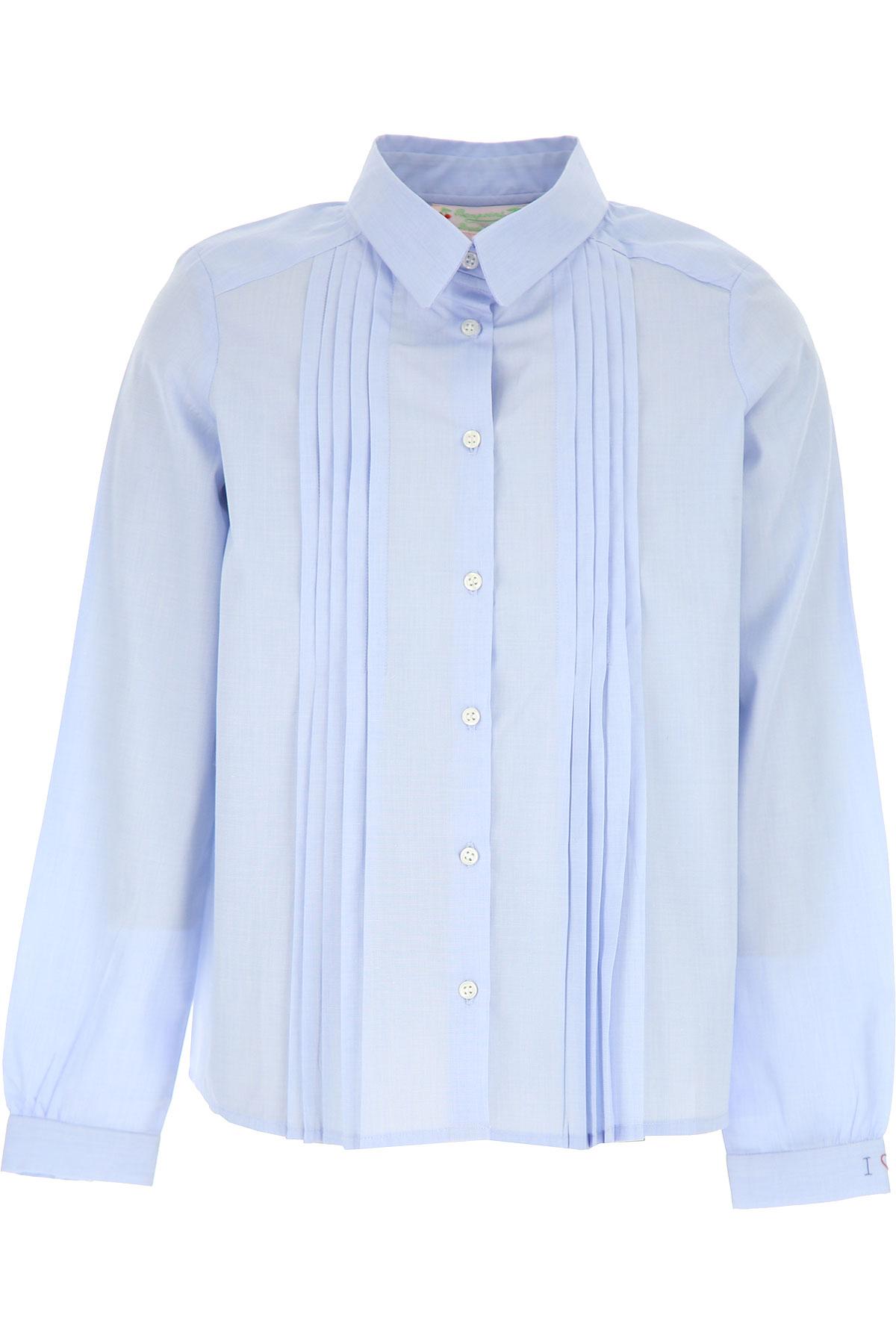 Bonpoint Kids Shirts for Girls On Sale, Heavenly, Cotton, 2019, 10Y 12Y 14Y 8Y