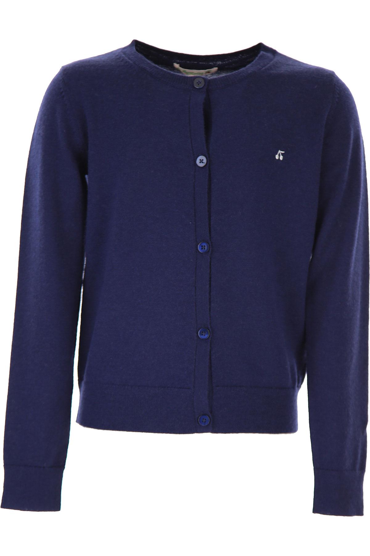Bonpoint Kids Sweaters for Girls On Sale, Blue, Wool, 2019, 10Y 12Y 14Y 4Y 6Y 8Y