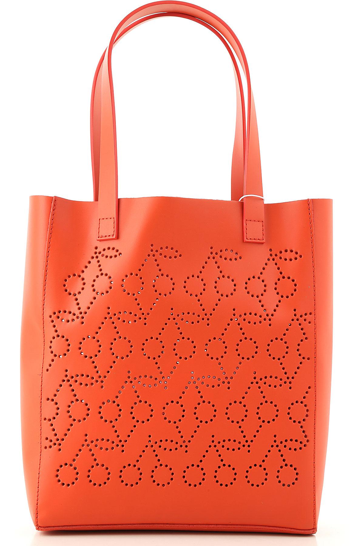 Bonpoint Girls Handbag On Sale, Brick, Cow Leather, 2019