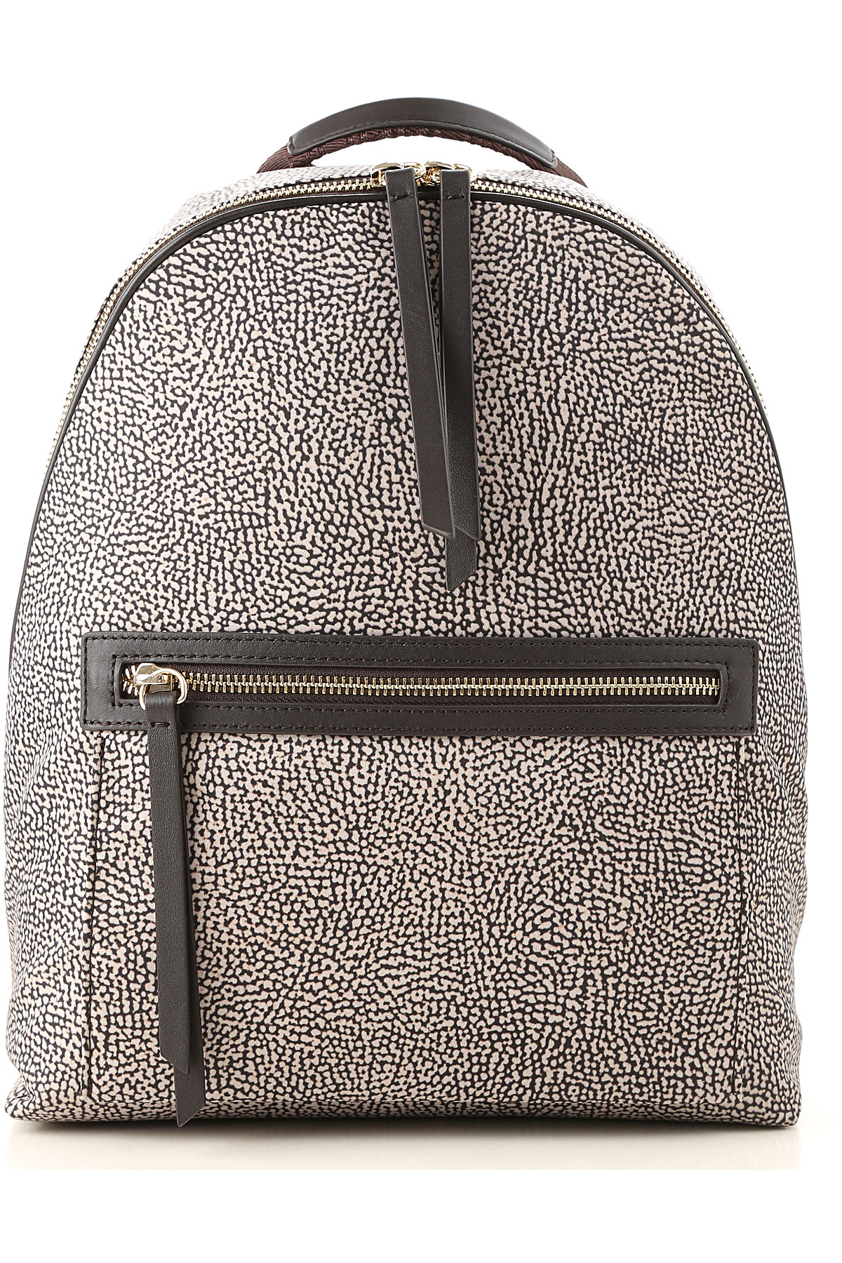 Image of Borbonese Backpack for Women, Natural, Nylon, 2017