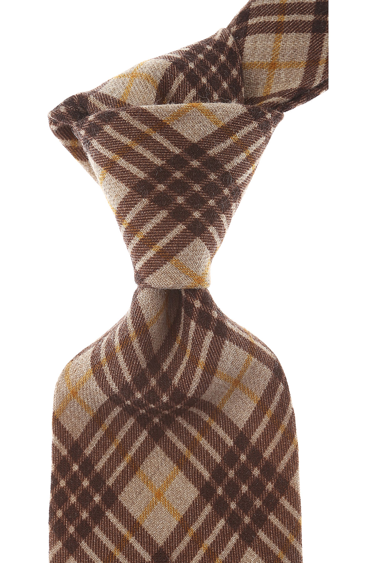 Borrelli Ties On Sale, Beige, Wool, 2019