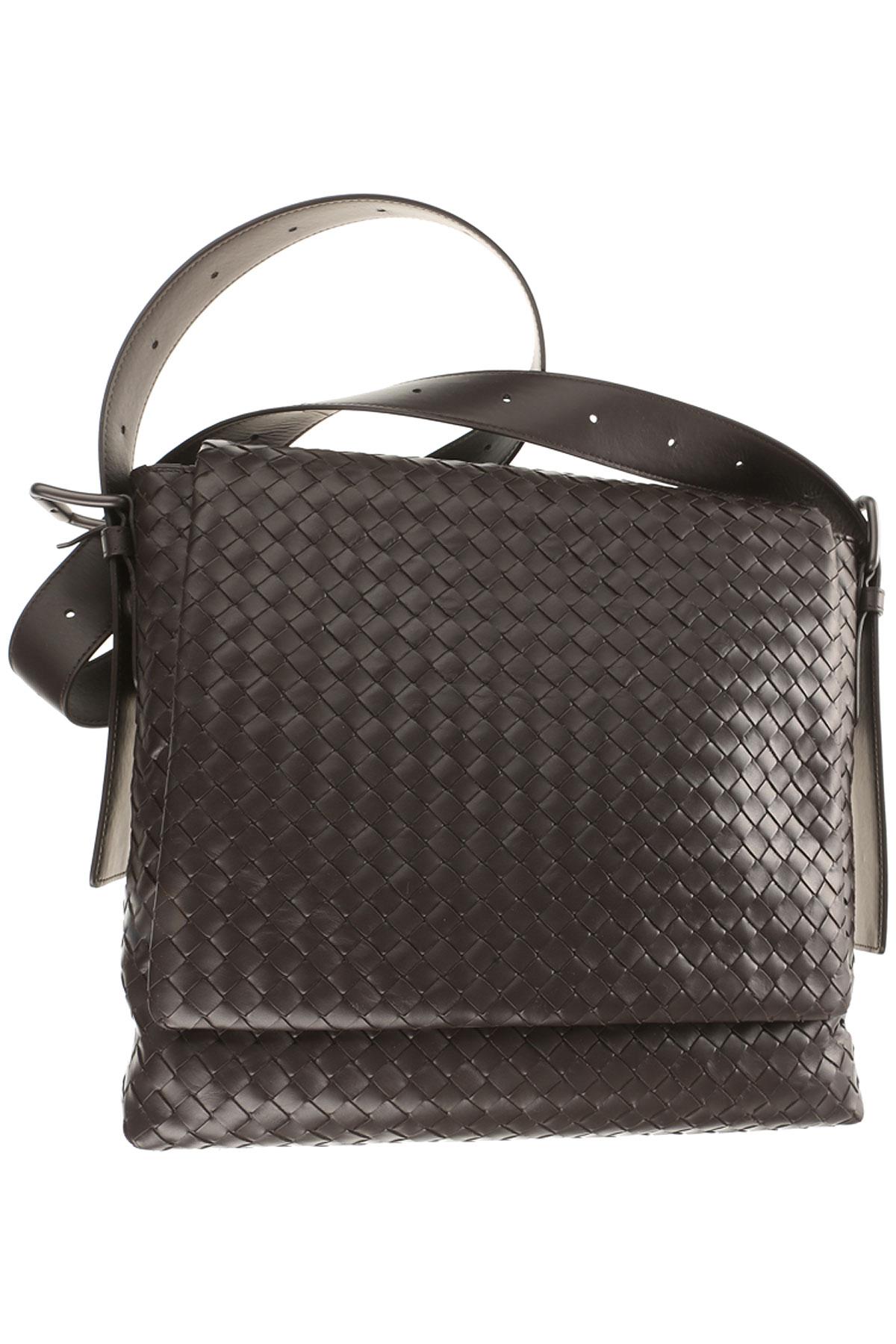 Bottega Veneta Briefcases, Chocolate Brown, Leather, 2019
