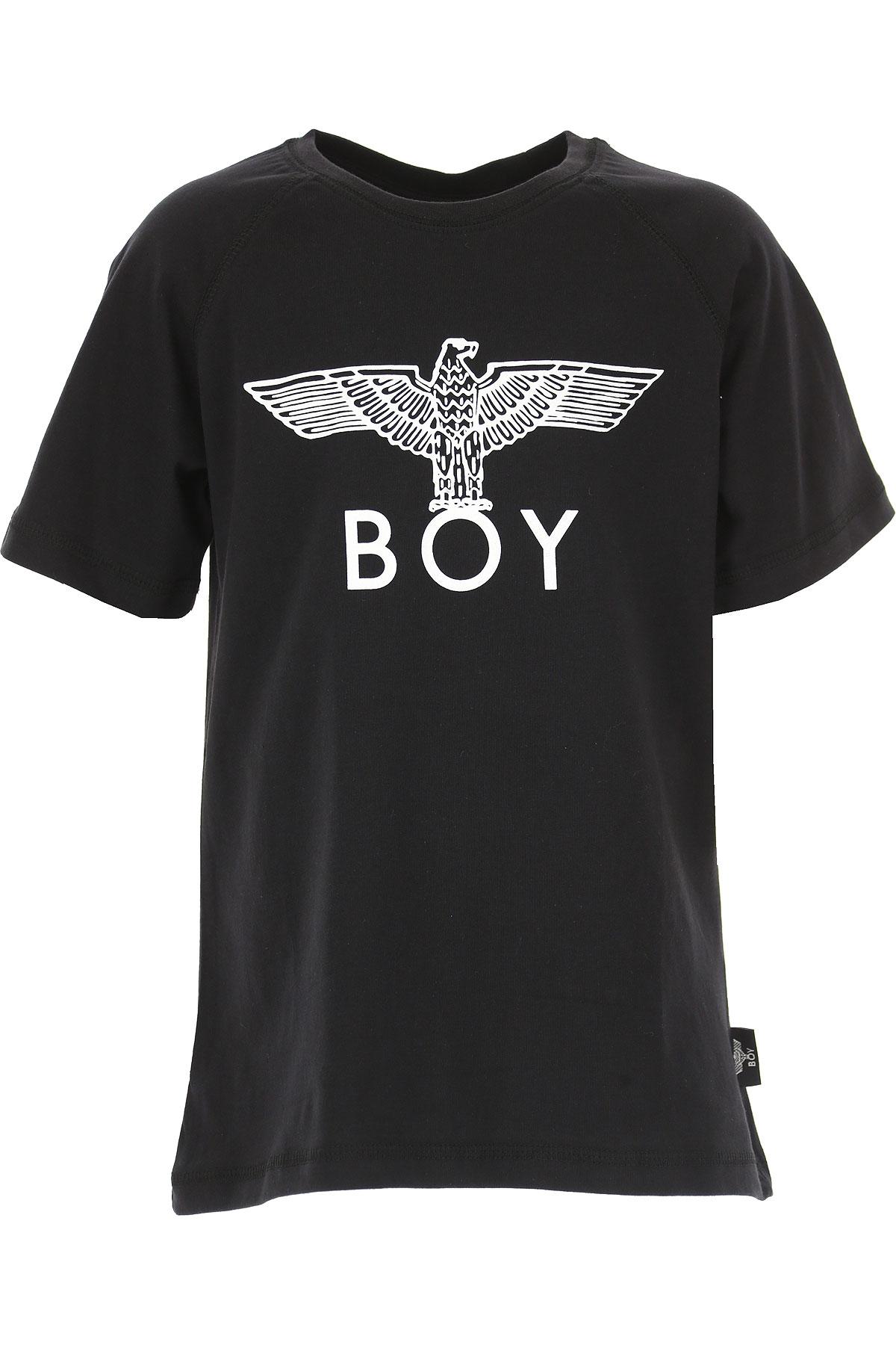 Image of Boy London Kids T-Shirt for Boys, Black, Cotton, 2017, 10Y 14Y 16Y 4Y 6Y 8Y
