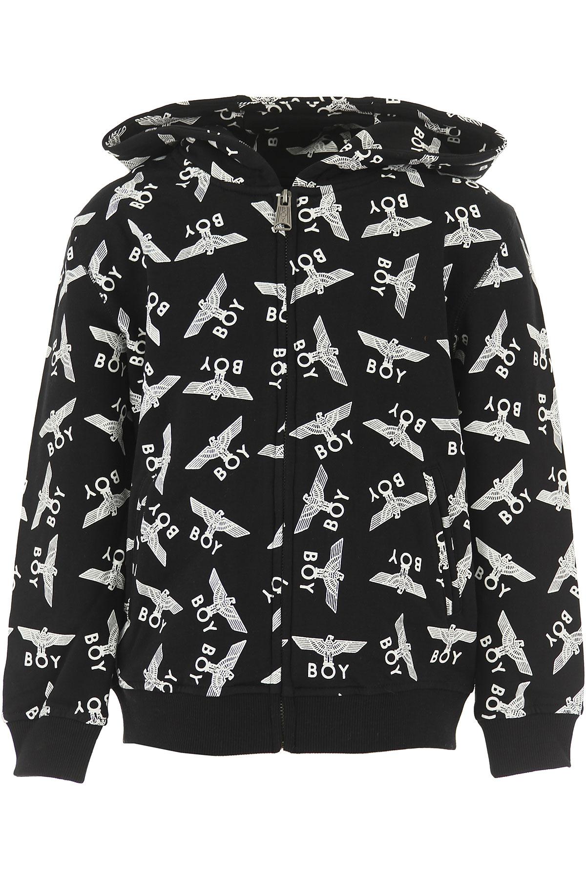Image of Boy London Kids Sweatshirts & Hoodies for Boys, Black, Cotton, 2017, 10Y 14Y 16Y 4Y 6Y 8Y