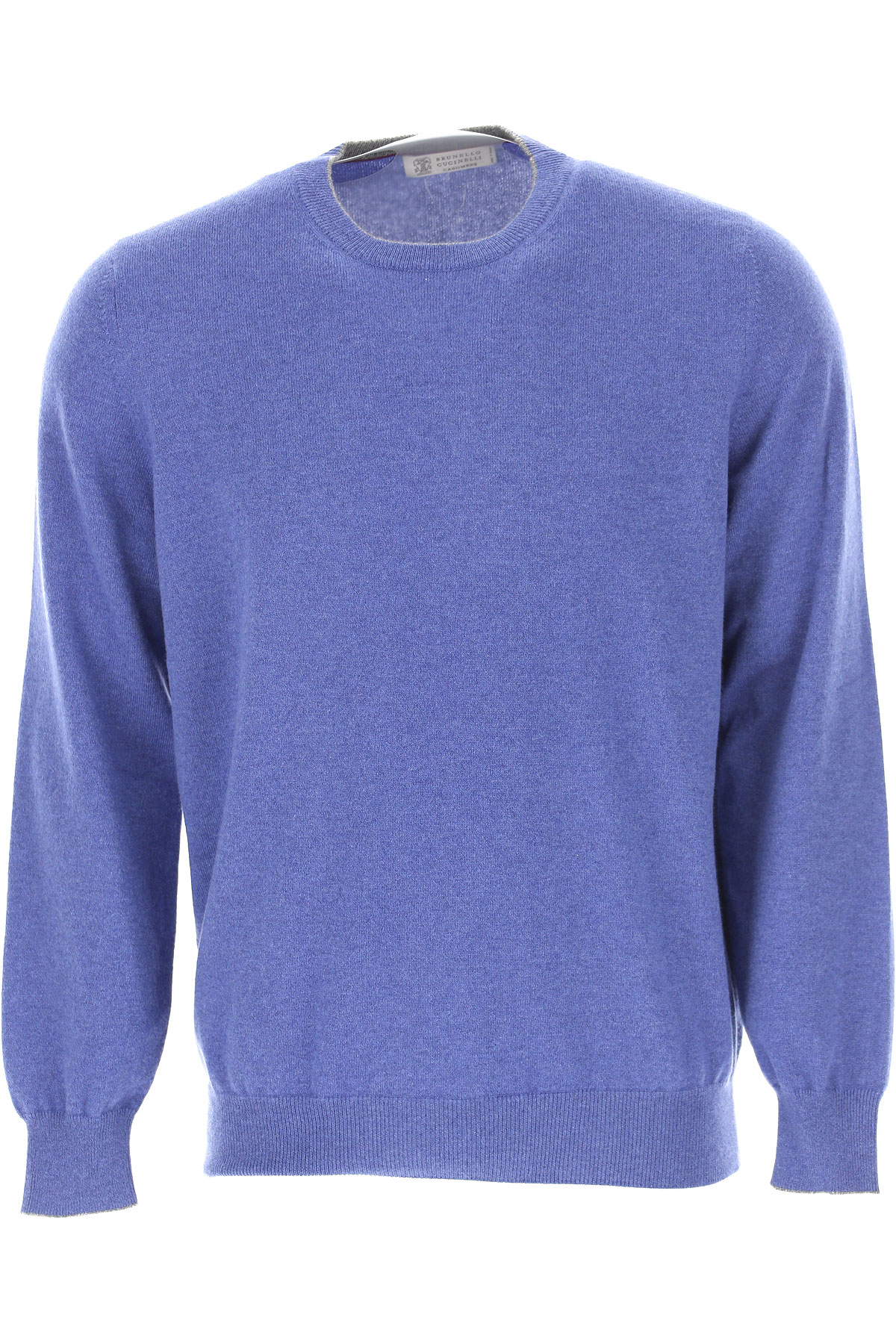 Brunello Cucinelli Sweater for Men Jumper, Blue, Cashmere, 2019, M XXL XXXL
