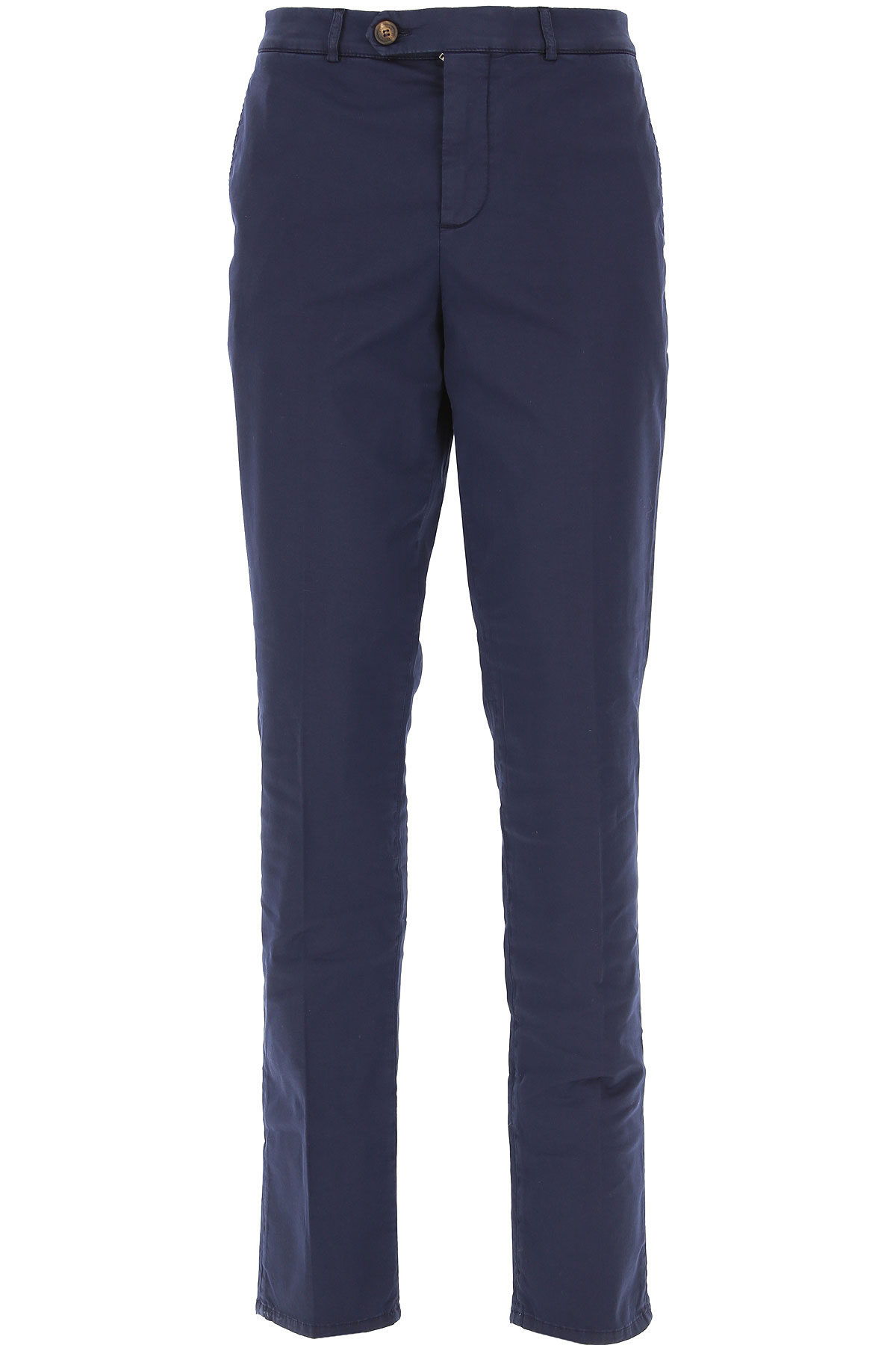 Brunello Cucinelli Pants for Men On Sale in Outlet, Blue, Cotton, 2019, 34 38