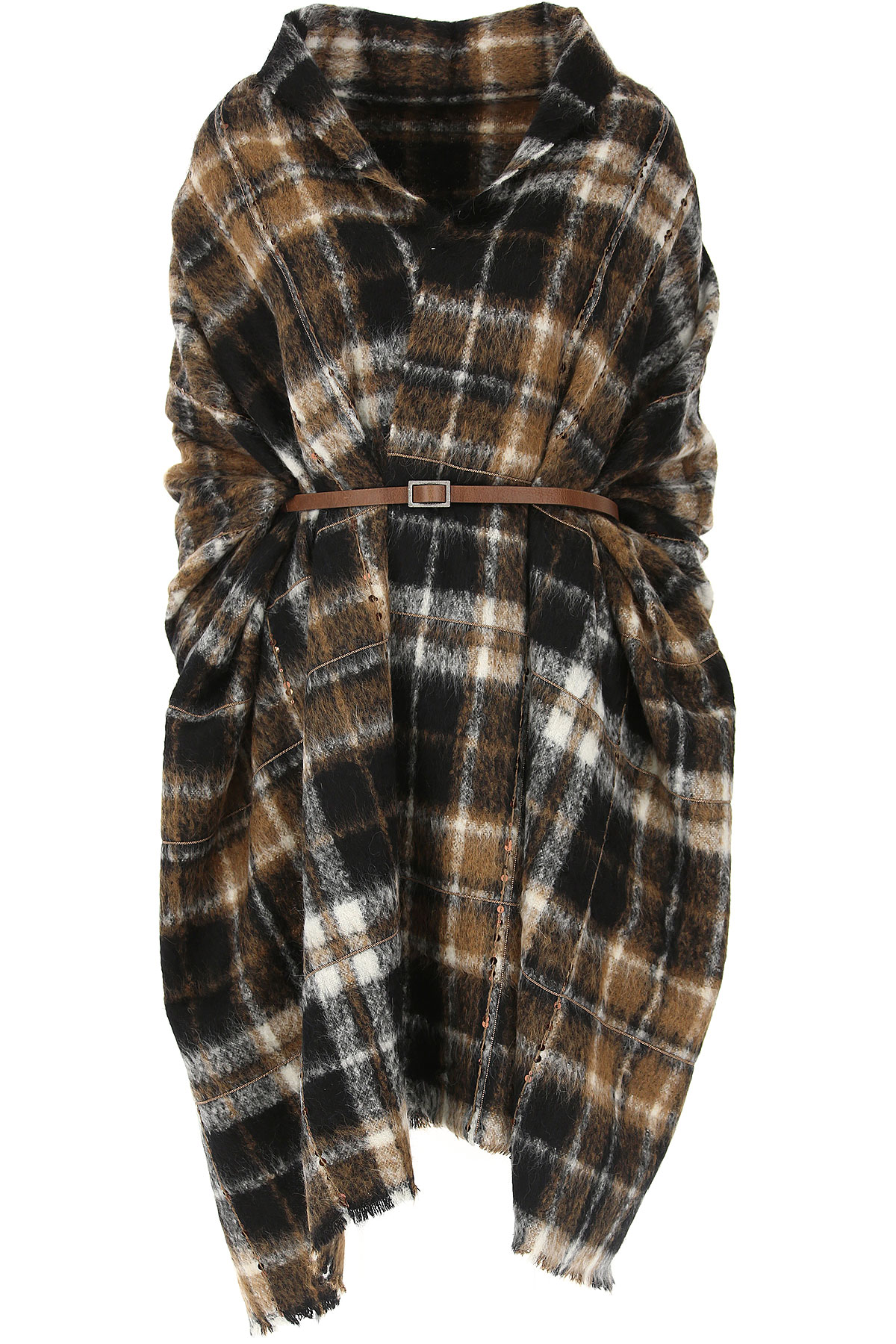 Image of Brunello Cucinelli Womens Clothing, Black, alpaca, 2017