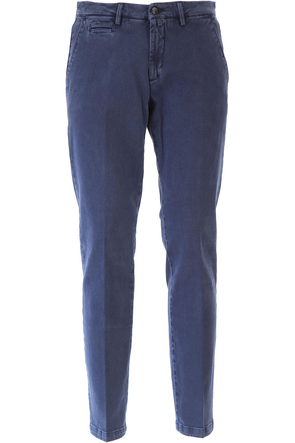 Image of Briglia Pants for Men, Washed Blue, Cotton, 2017, US 34 - EU 48 US 36 - EU 50