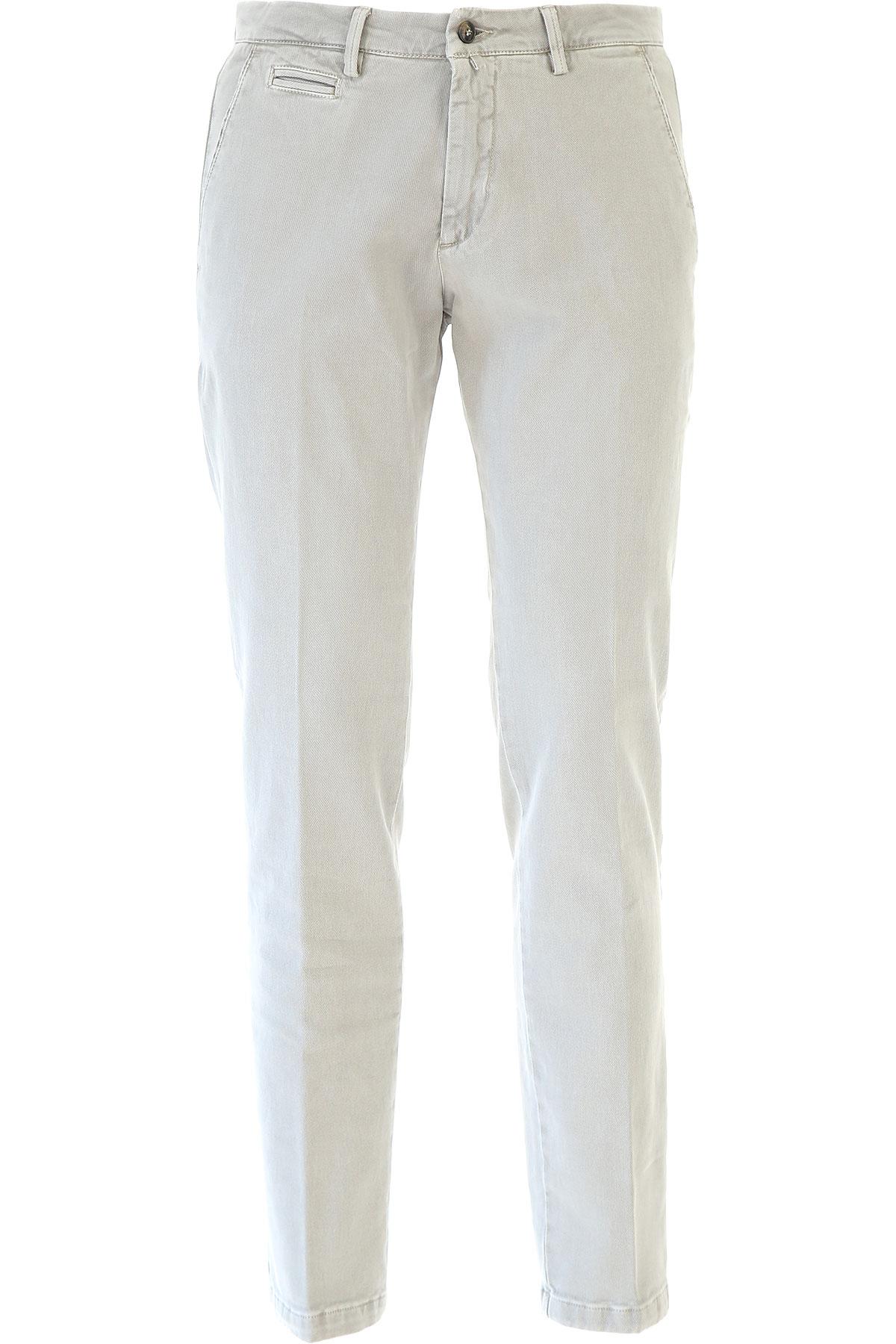 Image of Briglia Pants for Men, Beige, Cotton, 2017, US 34 - EU 48 US 36 - EU 50 US 38 - EU 52