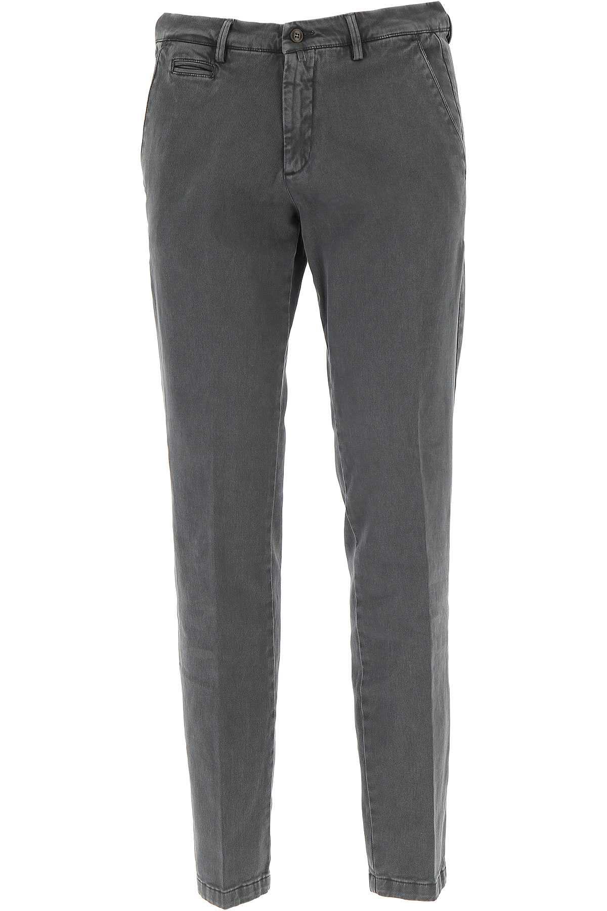 Image of Briglia Pants for Men, Washed Grey, Cotton, 2017, US 34 - EU 48 US 36 - EU 50